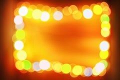 Frame blur light Royalty Free Stock Images