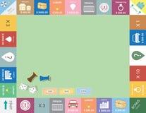 Frame of board game ,Funny frame,Board games,Vector illustrations. Frame of board game ,Funny frame,Board games stock illustration