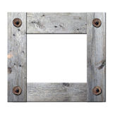 Frame of boards Stock Images