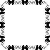 Frame bonito da borboleta Imagens de Stock Royalty Free