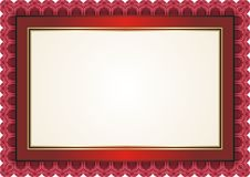 Frame - Border with Bright Color Style Design Stock Photo