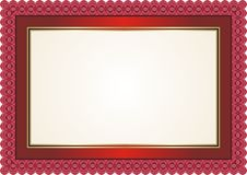 Frame - Border with Bright Color Style Design Royalty Free Stock Photos