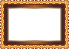 Frame - Border with Bright Color Style Design Stock Photos