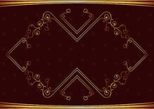 Frame Border Design Royalty Free Stock Images