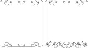 Frame Border Design Stock Photo