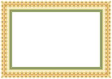 Frame / Border with Lovely design. Frame / Borde with Lovely design and cute color, simple and elegant with blank area Stock Images