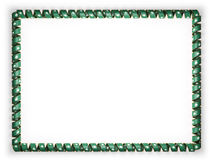 Frame and border of ribbon with the Macau flag, edging from the golden rope. 3d illustration Stock Photo