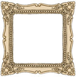 Frame border vintage painting Royalty Free Stock Photography