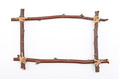 Frame of branches Royalty Free Stock Photography