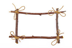 Frame of branches Royalty Free Stock Images