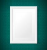 Frame branco antigo Fotos de Stock