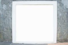 Frame on brick. Wall beautiful irresistible Stock Image