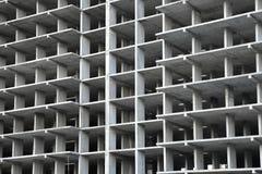 Frame building under construction of concrete Stock Image