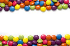 Frame of Candies Royalty Free Stock Photo