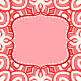 Frame with candy lollipops background Royalty Free Stock Photos