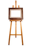 Frame canvas on easel Royalty Free Stock Photo