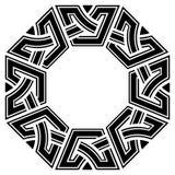 Frame celta ilustração royalty free