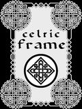 Frame in Celtic style Royalty Free Stock Photography