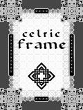 Frame in Celtic style Royalty Free Stock Photos