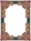 Frame in Celtic style a  Stock Images