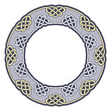Frame in Celtic style. Royalty Free Stock Photography