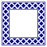 Frame cerâmico ilustração stock