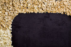 Frame of cereals. Stock Photos