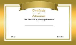 Frame Certificate Royalty Free Stock Photography