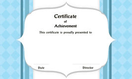 Frame Certificate Royalty Free Stock Photos