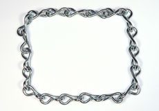 Frame of Chain Royalty Free Stock Photos