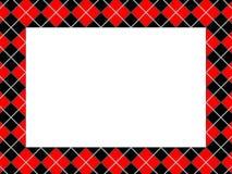 Frame Checkered do teste padrão Imagem de Stock
