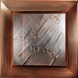 Frame chirurgische instrumenten Stock Afbeelding