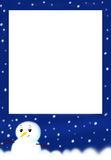 Frame of Christmas Stock Images