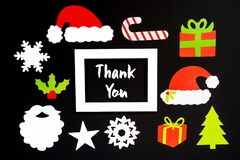 Frame, Christmas Decoration Accessories, Text Thank You