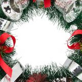 Frame Christmas Tree Decoration Royalty Free Stock Photo