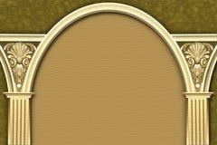 Frame clássico da coluna & do arco Imagens de Stock Royalty Free