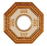 Frame with clipping path. Antique frame with clipping path Royalty Free Stock Photos