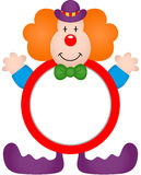 Frame Clown Royalty Free Stock Images