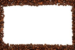Frame of coffee Stock Photos