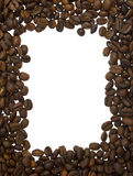 Frame from coffee beans Stock Photography
