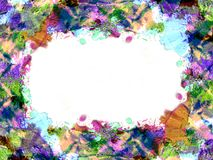 Frame color 2 Royalty Free Stock Photography