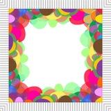 Frame colorido ilustração stock