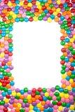 Frame colorido dos doces de chocolate Imagens de Stock Royalty Free