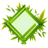 Frame With the Composition of Foliage Number Eight Royalty Free Stock Images