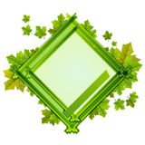 Frame With the Composition of Foliage Number Five Royalty Free Stock Images