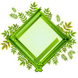 Frame With the Composition of Foliage Number Nine Stock Photos