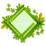 Frame With the Composition of Foliage Number Seven Royalty Free Stock Photo