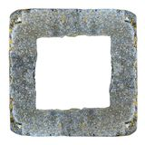 Frame of concrete kerb Stock Photography