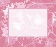 Frame consideravelmente floral ilustração royalty free