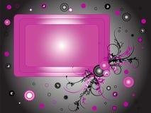 Frame cor-de-rosa Foto de Stock